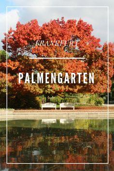 Palmengarten, Frankfurt, Germany  Amazing park to visit, especially in autumn.