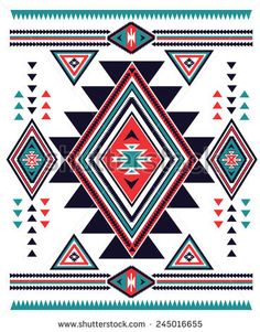 Find Navajo Aztec Big Pattern Vector Illustration stock images in HD and millions of other royalty-free stock photos, illustrations and vectors in the Shutterstock collection. Thousands of new, high-quality pictures added every day. Native American Patterns, Native American Design, Native Design, Indian Patterns, Tribal Patterns, Quilt Patterns, Motif Navajo, Navajo Pattern, Navajo Art