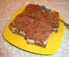 Strúhaný tvarohový koláč- bezlepkový (fotorecept)