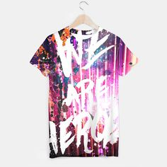 We are heroes T-shirt by HappyMelvin, Live Heroes. #liveheroes #tshirt #top #apparel
