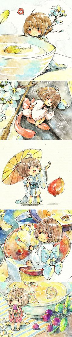 插画 -涂鸦王国- 为梦想而画 -   AHH~!! So cute!! It's Chinese though :D
