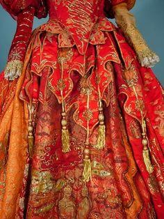 "AUTHENTIC - JUNE ANDERSON  Stage Worn Opera Gown in   Handel's ""ORLANDO"""