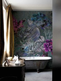 wall + deco wet system wallpaper