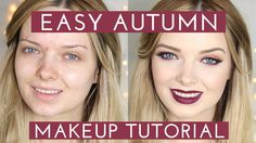 Easy Autumn (Fall) Makeup Tutorial // Acne Coverage // MyPaleSkin