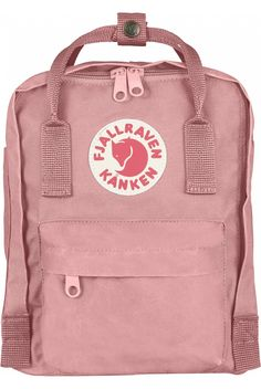 Fjallraven Kanken Mini Backpack Pink - Fjallraven Kanken