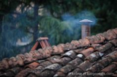 DAILY IMAGE 26th September 2014 - click on this link to view the image in full screen - http://www.barganews.com/2014/09/26/26th-september-2014/   - the first wood smoke in the air this autumn
