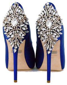 Brilliant Luxury by Emmy DE * Badgley Mischka Kiara Sapphire