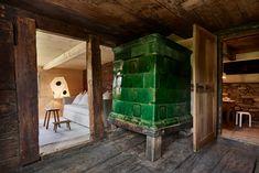 Haus Tannen – Stiftung Ferien im Baudenkmal Kunsthistorisches Museum, Firs, Restoration, Wood Floor, Log Home, Kitchen Contemporary