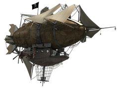HMS Ophelia / Abney Park / Peter Cakebread and Ken Walton / #3D