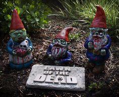 Zombie Gnomes FULL SET by dougfx on Etsy, $139.99