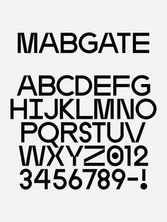 Mabgate | ZEITYPE