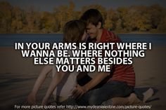 Valentine Special: In your arms is right