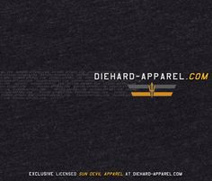 Founded by Arizona State Alumni, DieHard Apparel is your newest destination for original, Officially Licensed Sun Devil apparel- http://DieHard-Apparel.com. Female apparel, never-before-offered Sun Devil gifts and more are on the way.