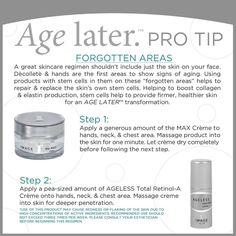 dc06a2d1079 #protips @Image Skincare @TimeLess Medical Spa & Weight Loss Clinic AGE  LATER