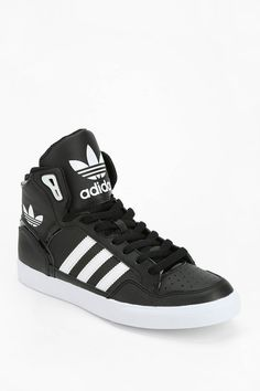 f762ad0fa4 adidas Originals Extaball Leather High-Top Sneaker - Urban Outfitters  Sports Shoes
