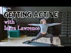 Iskra Lawrence's Yoga-Inspired Stretches to Cool Down With | GETTING ACTIVE - Episode 007 - YouTube