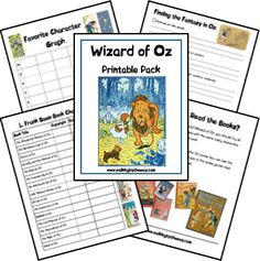 *Free* Wizard of Oz Printable Pack