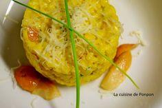 Risotto aux champignons parfumé au safran - La cuisine de Ponpon: rapide et facile!