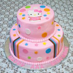 hello kitty birthday cakes for girls