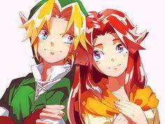 「【腐向け】zelda詰め【注意】」/「ヤモノアキ」の漫画 [pixiv] Link and Malon, Ocarina of Time