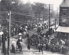 Circus Parade in Raleigh, North Carolina by  Unknown Artist
