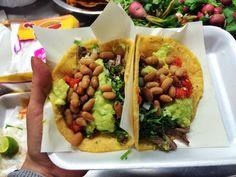 Tacos de Asada de Taqueria El Trailero, los mas tradicionales de Ensenada, BC. #mexicanfood #cocinamexicana
