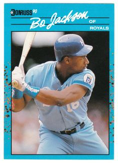 Bo Jackson # 63 - 1990 Donruss Best AL Baseball