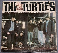 The Turtles It Ain't Me Babe Mono LP White Whale WW 111