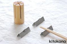 【楽天市場】kitokana ブナ 箸置きセット/小泉誠:レゾンストア(RAISON STORE)