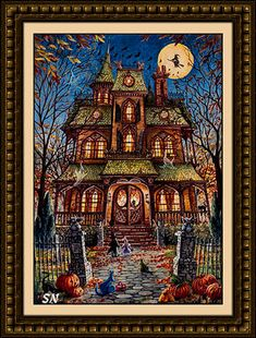 Trick or Treat from Heaven and Earth Designs. Stunning. I need this.