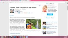 How to Travel the World for Less Money! http://anniejenningspr.com/jenningswire/podcast/podcast-travel-the-world-on-less-money/