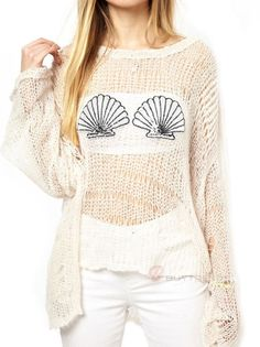 Loose Pullover Sweater #buytrends #fashion #style  #sweater