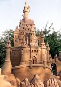 Sand castles are fun for the whole #family! We want pictures if you manage to construct something like this…
