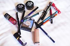 What are Ruby Rose's must-have beauty products? Find out here.  #Beauticate #OrangeIsTheNewBlack #OITNB #model #actress #musician #dj #eyeliner #mascara #eyeshadow #lipstick #chapstick