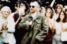Tough Enough: Tracking the Army Jacket's Evolution - Gallery - Style.com For his turn as Travis Bickle in Martin Scorsese's Taxi Driver, Robert De Niro sported a classic M-65 field jacket and a mohawk. Two decades later, Junya Watanabe would pay homage to the look with his Spring