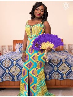 Island Style Clothing, New Outfits, Fashion Outfits, Kente Dress, Kente Styles, Ankara Designs, African Weddings, Special Interest, Traditional Wedding Dresses