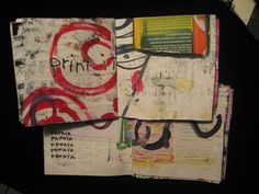 maggie muth - stitched books (mixed media)