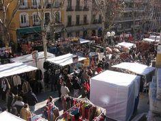 Madrid's Rastro Fleamarket