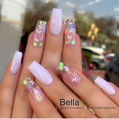 How to choose your fake nails? - My Nails Purple Acrylic Nails, Acrylic Nails Coffin Short, Summer Acrylic Nails, Best Acrylic Nails, Coffin Nails, Summer Nails, Acylic Nails, Butterfly Nail, Fire Nails