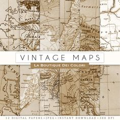Old maps textures digital paper vintage background vintage world old maps textures digital paper vintage background vintage world maps instant download for personal and commercial use background vintage gumiabroncs Image collections