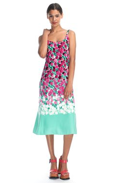Degrade Floral Long Tank Dress from Marc Jacobs