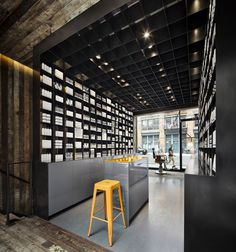 MenScience flagship store by HWKN, New York