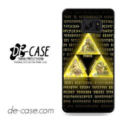The Legend Of Zelda Triforce DEAL-10840 Samsung Phonecase Cover For Samsung Galaxy Note 7