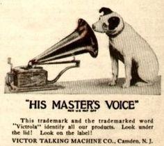 All about Antique Home Audio <종합전자> :: RCA VICTOR 로 잘알려진 니퍼 이야기 (The Nipper Saga)
