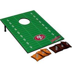 Wild Sports San Francisco 49ers Tailgate Toss Bean Bag Game