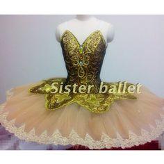 Ouro fada tutus de balé profissional, tutu de ballet raymonda, Paquita, tutu de bailarina de ballet saia tutu, tutu de ballet clássico(China (Mainland))