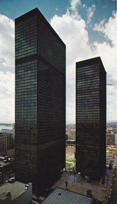 1969 Dominion Centre. Toronto, arch: Mies van der Rohe et al., Canada