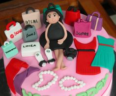 shopping themed cakes - Google Search
