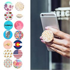 Fashion Phone Holder Expanding Stand and Finger Grip Pop Sockets Mount for Tablets For iPhone 7 Xiaomi Redmi Note 3 Pro#pop socket