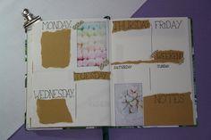 Bullet journal #4 - Mei, weekly spread Friday Weekend, Tuesday Wednesday, Saturday Sunday, Mei, Weekly Spread, Bullet Journal, Notes, Dreams, Blog